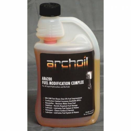 Archoil - Archoil AR6200, Combustion Catalysis and Burn Modifier Fuel Treatment, 128oz (1 Gallon)