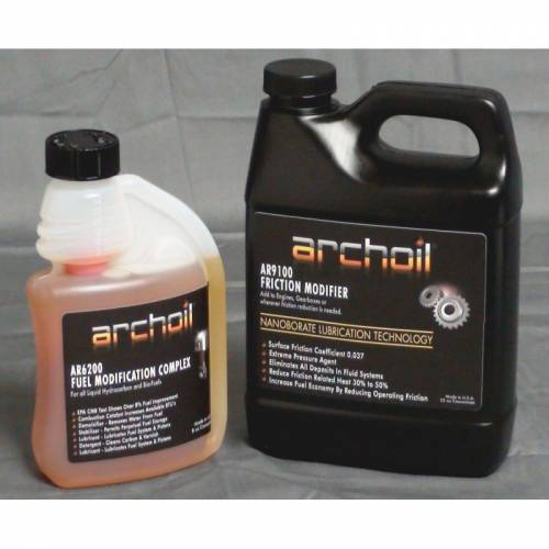 Archoil - Archoil Maintenance Kit 2 (32oz AR9100 oil treatment & 8oz AR6200 fuel treatment)
