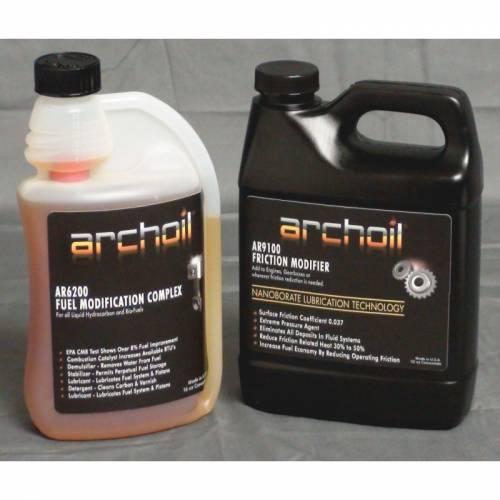 Archoil - Archoil Maintenance Kit 3 (32oz AR9100 oil treatment & 16oz AR6200 fuel treatment)