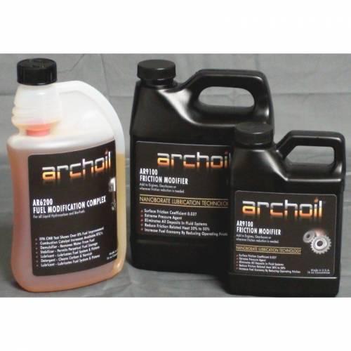 Archoil - Archoil, Maintenance Kit 4 (48oz AR9100 oil treatment & 16oz AR6200 fuel treatment)