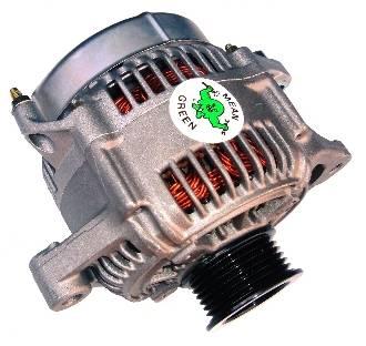 Mean Green - Mean Green High Output Alternator, Chevy/GMC (1987-95) 6.5L Diesel (395ci)