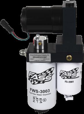 FASS Diesel Fuel Systems - FASS Titanium Series Fuel System, Dodge (1998.5-04) 5.9L Cummins (w/ in-tank fuel lift pump),220gph (900-1,200hp)