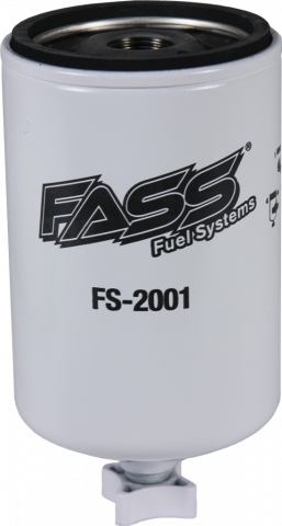FASS Diesel Fuel Systems - FASS Titanium Series Replacement Fuel Filters, Water Separator (for blue & red models)