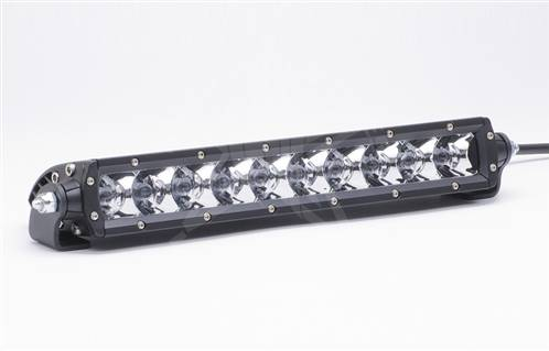 "Rigid Industries - Rigid Industries, 10"" SR-Series LED Light Bar, Flood, White"