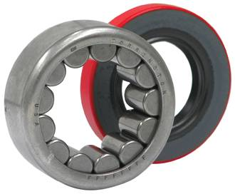 Yukon Gear & Axle - Axle bearing & seal kit for GM 9.5""