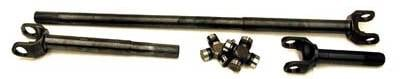 Yukon Gear & Axle - Yukon front 4340 Chrome-Moly replacement axle kit for Jeep TJ Rubicon front.
