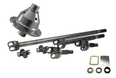 Yukon Gear & Axle - Yukon 30 spline 4340 Chrome-Moly axle & Grizzly Locker kit for Jeep TJ, XJ, YJ & ZJ.