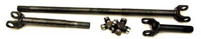 Yukon Gear & Axle - Yukon 4340 Chrome-Moly replacement axle kit for Dana 30 front, Non-Rubicon JK, w/Super Joints