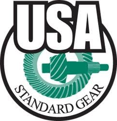 "USA Standard Gear - USA Standard 4340 Chrome-Moly replacement blank axle for Dana 30 & Dana 44, 36.25"" long"