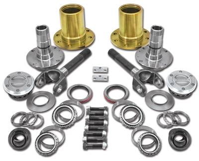 Yukon Gear & Axle - Spin Free Locking Hub Conversion Kit for Dana 60 & AAM, 00-08 SRW Dodge