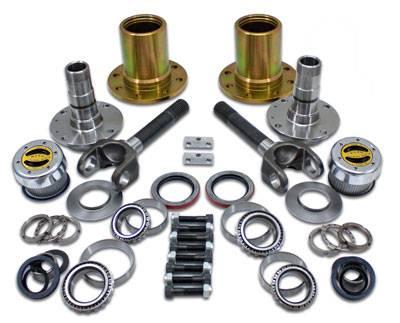 "Yukon Gear & Axle - Spin Free Locking Hub Conversion Kit for Dana 30 TJ, XJ, YJ, 27 Spline, 5 x 4.5"""