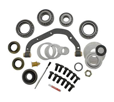 "Yukon Gear & Axle - Yukon Master Overhaul kit for Ford Daytona 9"" LM102910 differential with crush sleeve eliminator"