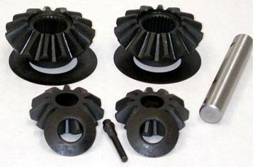 "Yukon Gear & Axle - 2007 & Up 9.25"" Chrysler standard Open 33 spline straight axle front spider set"