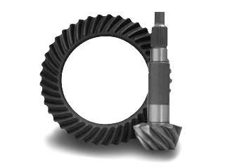 "Yukon Gear Ring & Pinion Sets - High performance Yukon ring & pinion gear set for '10 & down Ford 10.5"" in a 3.55 ratio."
