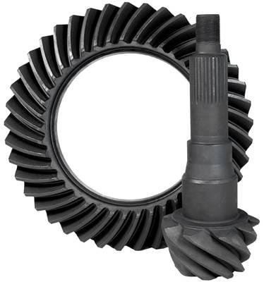 "Yukon Gear Ring & Pinion Sets - High performance Yukon Ring & Pinion gear set for '11 & up Ford 9.75"" in a 3.55 ratio"