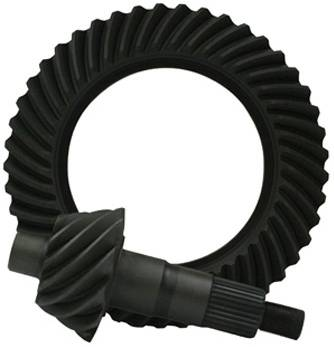 "Yukon Gear Ring & Pinion Sets - High performance Yukon Ring & Pinion ""thick"" gear set for 10.5"" GM 14 bolt truck in a 4.56 ratio"