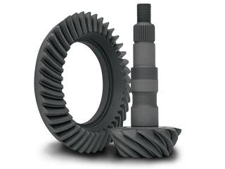 "Yukon Gear Ring & Pinion Sets - High performance Yukon Ring & Pinion gear set for GM 8.25"" IFS Reverse rotation in a 4.56 ratio"