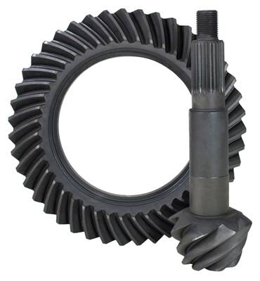 Yukon Gear Ring & Pinion Sets - High performance Yukon Ring & Pinion gear set for Model 35 IFS Reverse rotation in a 4.11 ratio
