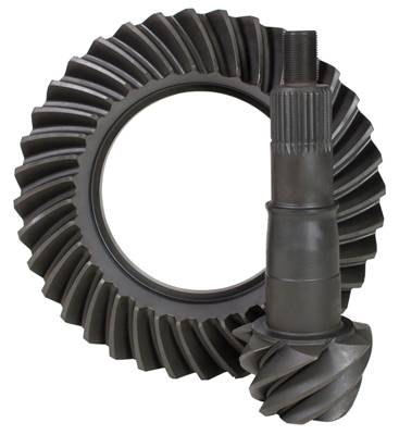 "USA Standard Gear - USA standard ring & pinion gear set for Ford 8.8"" Reverse rotation in a 4.56 ratio."