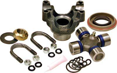 Yukon Gear & Axle - Yukon replacement trail repair kit for Dana 30 and 44 with 1350 size U/Joint and straps