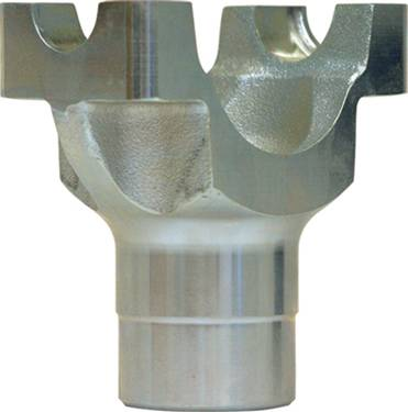 "Yukon Gear & Axle - Yukon steel billet yoke for Chrysler 8.75"" with 10 spline pinion and a 7290 U/Joint size"