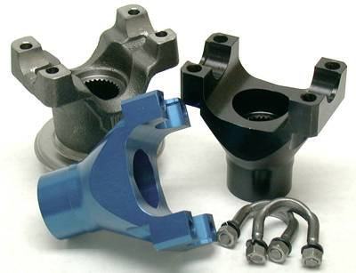 "Yukon Gear & Axle - Yukon aluminum billet yoke for Chrysler 8.75"" with 10 spline pinion and a 7290 U/Joint size."