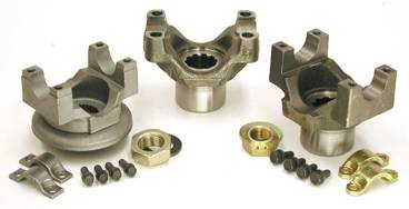 "Yukon Gear & Axle - Yukon yoke for GM 8.2"" with a 1310 U/Joint size. This yoke uses u-bolts."
