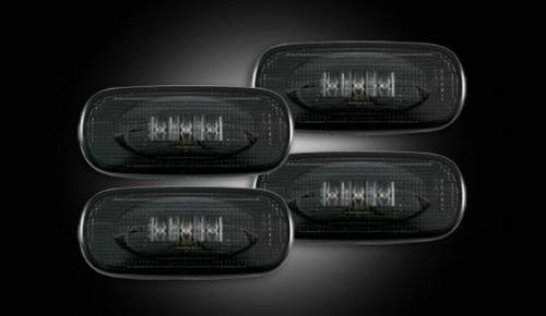 Recon - Recon Dually Fender Lights, Dodge (2010-14) 3500 Ram Dually, Smoked