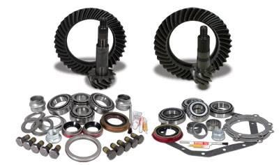 Yukon Gear & Axle - Yukon Gear & Install Kit package for Standard Rotation Dana 60 & 89-98 GM 14T, 4.56 thick.