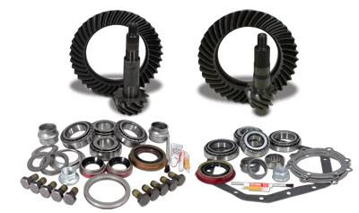 Yukon Gear & Axle - Yukon Gear & Install Kit package for Reverse Rotation Dana 60 & 99 & up GM 14T, 4.56 thick.