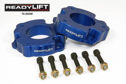 "ReadyLIFT Suspension - ReadyLIFT Leveling Kit, Ford (2010-14) F-150 Raptor SVT, 2"" (T6 Billet)"