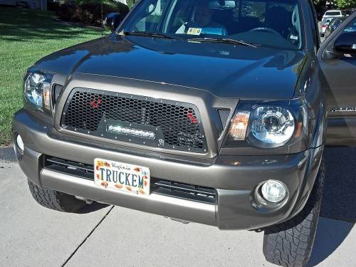 "Rigid Industries - Rigid Industries LED Grille, Toyota (2005-10) Tacoma (10"" SR-Series)"