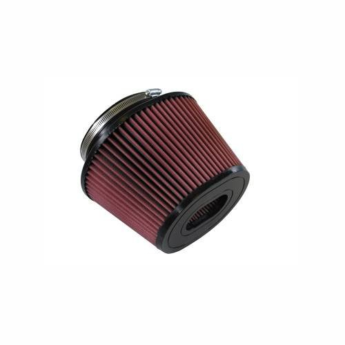 S&B - S&B Replacement Air Filter (for Ford 6.4L Intake with oval flange) Cleanable, 8-ply Cotton
