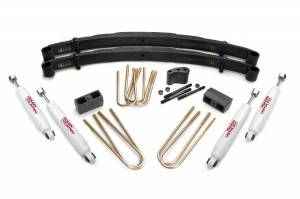"Steering/Suspension Parts - 4"" Lift Kits - Rough Country - Rough Country Lift Kit, Ford (1977.5-79) F-250 Lowboy 4x4, 4"""