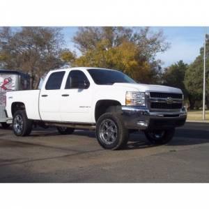 "Traxda - TraxdaLeveling Kit, Chevy/GMC (2000-10) 1500HD, 2500HD, 3500HD, (00-13) Suburban/Yukon XL, & (01-06) Avalanche, 3"" Front / 1"" Rear (fits 2wd & 4x4) - Image 2"