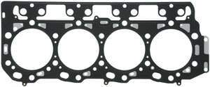 Engine Gaskets & Seals - Head Gaskets - Mahle - MAHLE Clevite Head Gasket, Chevy/GMC (2001-11) 6.6L Duramax, Grade C Thickness (1.05mm) Multi-Layered Steel, Left Side