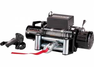 Winches - Electric Winches - Pro Maxx - Torxx Truck Winch Kit, 12,000lbs with wire fairlead
