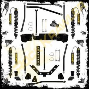 """Steering/Suspension Parts - 5"""" Lift Kits - Rock Krawler Suspension - Rock Krawler Suspension System, Jeep (2007-14) JK 5.5"""" (4 Door)"""