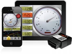 Gauges - Digital Screen Gauges - SCT - SCT iTSX / TSX for Apple & Android, Ford (Wireless Programmer)