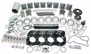 Engine Gaskets & Seals - Engine Overhaul Kits - Ford Genuine Parts - Ford Motorcraft Overhaul Kit, Ford (1994-03) 7.3L Power Stroke, 0.01 Over Sized Pistons