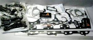 Engine Gaskets & Seals - Head Gaskets - Merchant Automotive - Merchant Automotive Head Gasket Kit, GM (2004.5-05) 6.6L Duramax (LLY), with Head Studs & Exhaust Gaskets