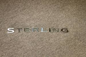 "Mopar - Sterling Bullet, ""STERLING"" Letter Badge Set"