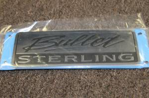 Badges/Decals/Stickers - Chrome/Stainless Badges - Mopar - Sterling Bullet Door Badge