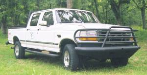Tough Country - Tough Country Custom Deluxe Front Bumper, Ford (1992-97) F-250 & F-350
