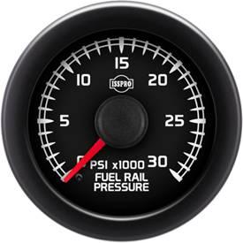 "2-1/16"" Gauges - Isspro EV2 Factory Match GM (2007+) - Isspro - Isspro EV2 Series Factory Match GM 2007+, Fuel Rail Pressure (0-30,000psi) 5.9L, LB7 6.6L, & LLY 6.6L"