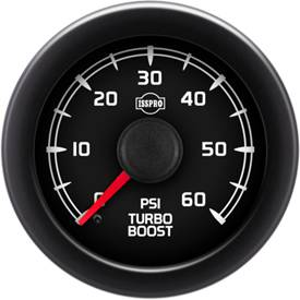 "2-1/16"" Gauges - Isspro EV2 Factory Match GM (2007+) - Isspro - Isspro EV2 Series Factory Match GM 2007+, Boost Pressure (60psi)"