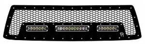 "Exterior Accessories - Grilles - Rigid Industries - Rigid Industries LED Grille, Toyota (2010-13) Tundra (6""/10""/6"" SR-Series)"