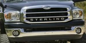 Exterior Accessories - Grilles - Mopar - Sterling Grille, Dodge (2003-09) Ram Trucks