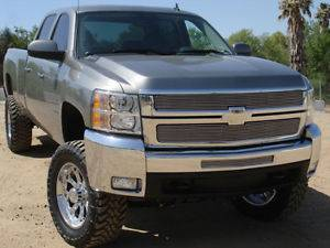 Exterior Accessories - Grilles - T-Rex Grilles - T-Rex Billet Grille Overlay, Chevy (2007.5-13) 2500HD-3500