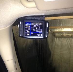 Gauges - Digital Screen Gauges - AVP - AVP Headliner Mount, H&S Performance Mini Maxx & Bully Dog GT